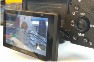 Sony a6300 Swivel Screen